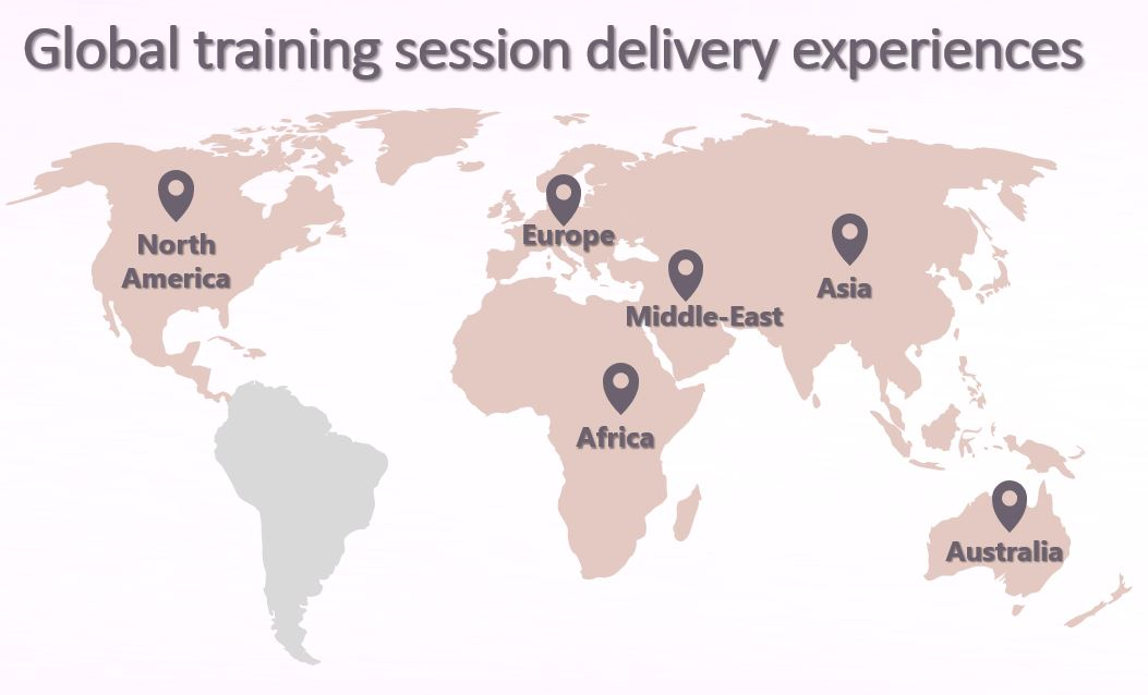 Global training delivery experiences